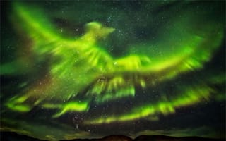 Is this the best ever picture of the Northern Lights?