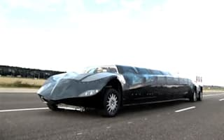 Dutch team unveils 155mph 'superbus'