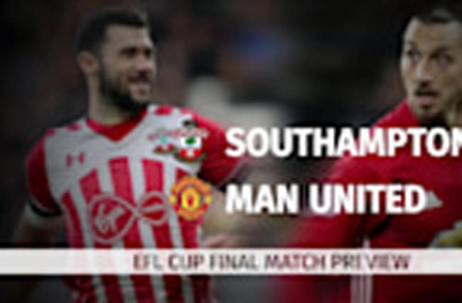 EFL Cup Final: Southampton v Manchester United match preview