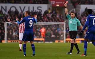 Leicester to appeal against Vardy red card