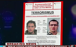 Berlin suspect 'shot dead by police in Milan' - reports