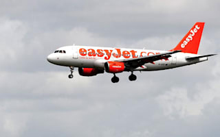 Panic as Easyjet plane and RAF fighter jet circle Liverpool