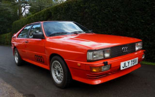 Ashes to Ashes Audi Quattro up for grabs