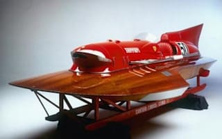 Amazing £1m vintage Ferrari speedboat for sale