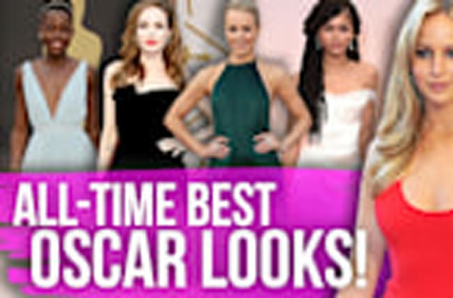 12 BEST Oscar Looks of All-Time!