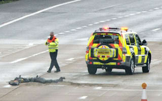 M25 reopens after giant pothole caused traffic chaos