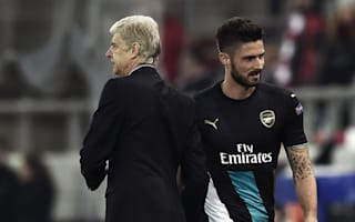 Wenger unworried by Giroud goal drought