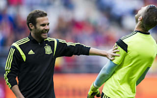 Mata reveals pre-Manchester derby banter among Spanish contingent