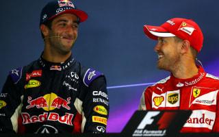 Ricciardo pokes fun at Vettel radio outburst