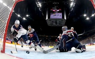 United States hammer Slovakia to go top, Sweden qualify