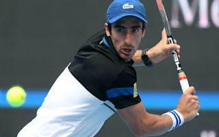 Cuevas falls at the first hurdle in Shanghai Masters
