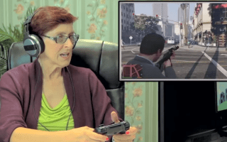 Watch OAPs get to grips with GTA5