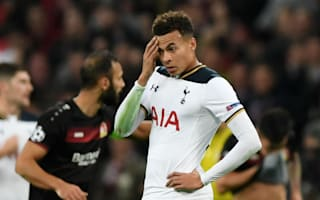 Alli out for 'a few weeks' with knee injury
