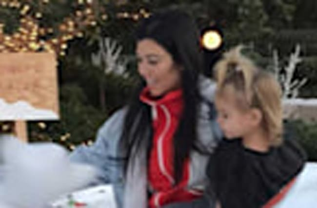Kourtney Kardashian Posts Cute Photo of Son Reign Rocking a High Ponytail Ahead of 2nd Birthday