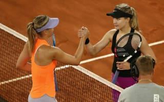 Locker room was rooting for me to beat Sharapova - Bouchard