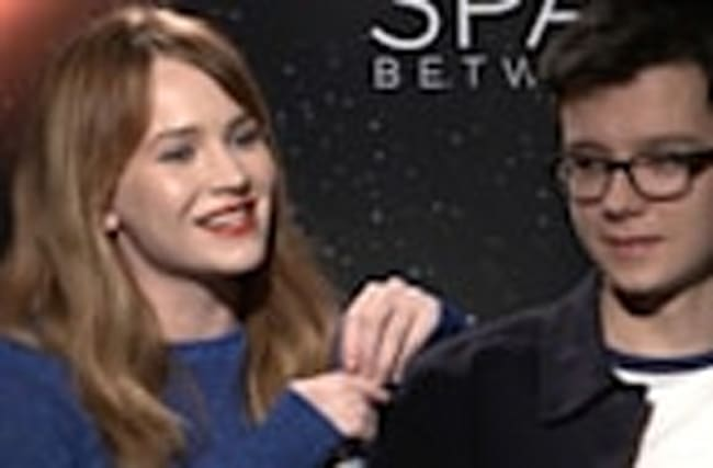 Asa Butterfield, Britt Robertson Spill On Filming 'The Space Between Us' & Revea