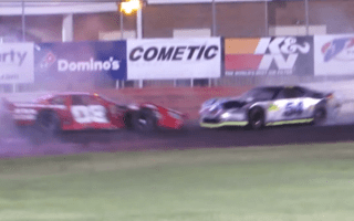 Racers turn track into personal demolition derby