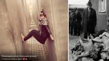 Se te quitará las ganas de posar así en el Monumento al Holocausto de Berlín