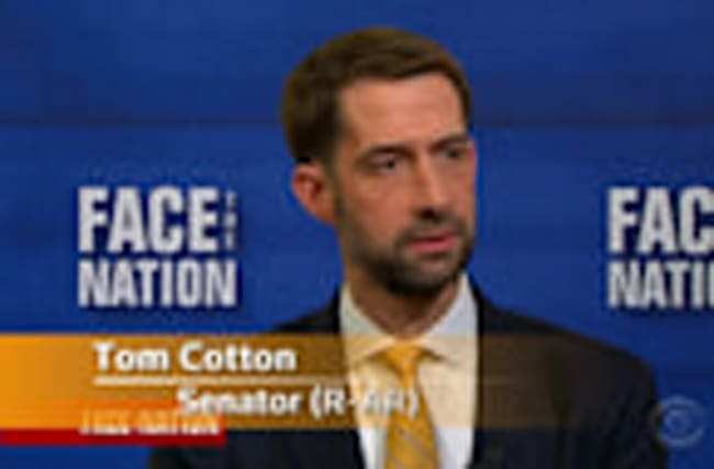 "Sen. Cotton blames ""process"" for healthcare bill's collapse"
