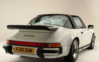 Gorgeous 911 Targa has been restored by Porsche professionals