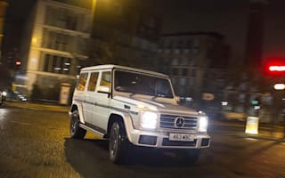How the Mercedes G-Class became the go-to motor for celebrities