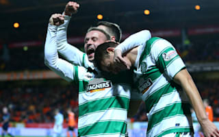 Dundee United 1 Celtic 4: Landmark night for Griffiths as champions stroll