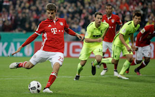 'Annoyed' Muller to stop taking penalties for Bayern