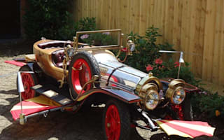 Fancy sitting pretty in a pint-sized Chitty?