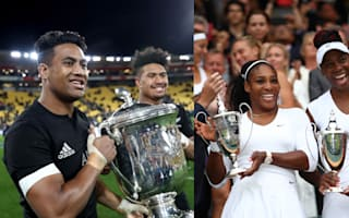 Rugby versus tennis: Savea brothers to face Williams sisters