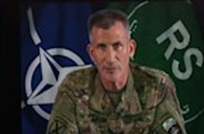 US General: 5 US Troops Wounded in Afghanistan