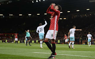 Manchester United 1 West Ham 1: Mourinho banished to the stands as Old Trafford troubles continue