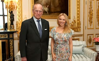 Pop princess charmed as Duke honours Kylie for Anglo-Australian relations role