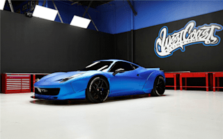 Justin Bieber's modified Ferrari 458 is going under the hammer