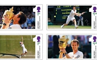 Andy Murray to feature on commemorative Royal Mail stamps