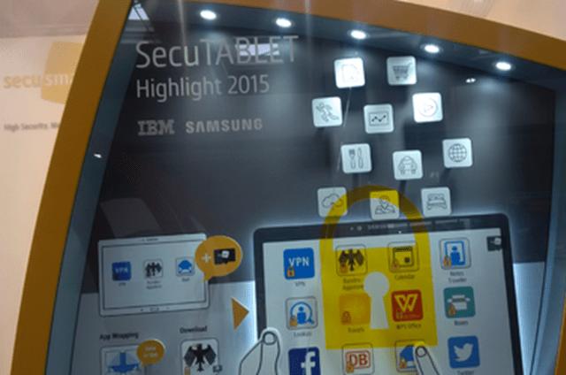 BlackBerry vuelve a los tablets con un Galaxy Tab S súper seguro