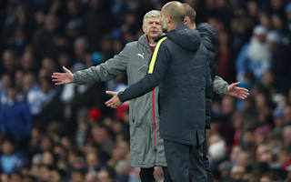 Win more games yourself - Guardiola tells Wenger to stop complaining