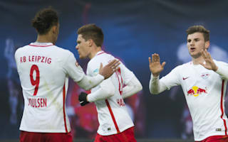 RB Leipzig end Hoffenheim's unbeaten run to keep up with Bayern