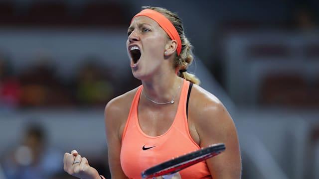 Kvitova completes emotional winning comeback at French Open