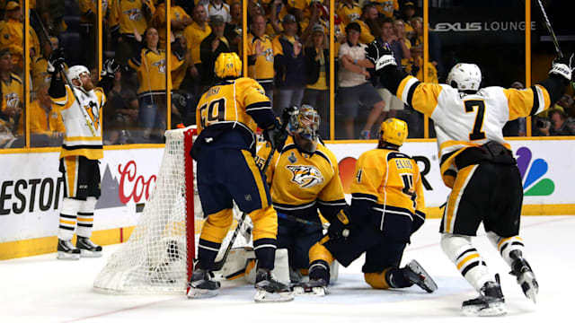 Pittsburgh Penguins clinch NHL's Stanley Cup again by beating Nashville Predators