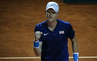 Edmund puts Britain ahead in rainy Belgrade