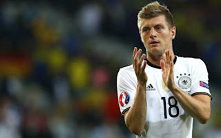 Germany not yet where we want to be, admits Kroos