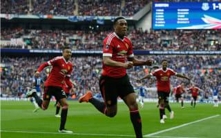 Everton 1 Manchester United 2: Martial's last-gasp winner piles misery on under-fire Martinez