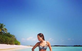 Myleene Klass shares bikini snaps from exotic winter holiday