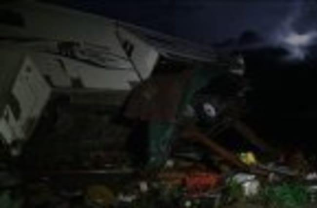 Raw: Tornado Destroys Homes in Northern Kansas