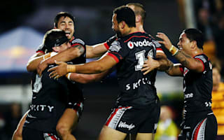 Wonderful Warriors shock Broncos, Storm hit the summit