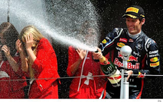 Mark Webber clinches victory in British GP