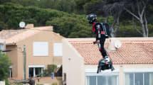 Increíble: logran nuevo récord volando con un hoverboard propulsado