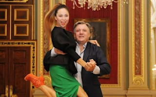Ed Balls makes a Korea move as he reprises Gangnam Style dance for Strictly