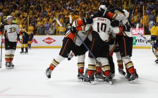 Stanley Cup playoffs: Ducks top Predators in OT to tie series
