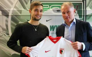 Augsburg bring in Lazio's Leitner